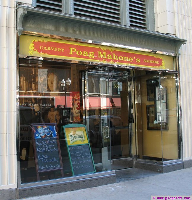 Poag Mahone's , Chicago
