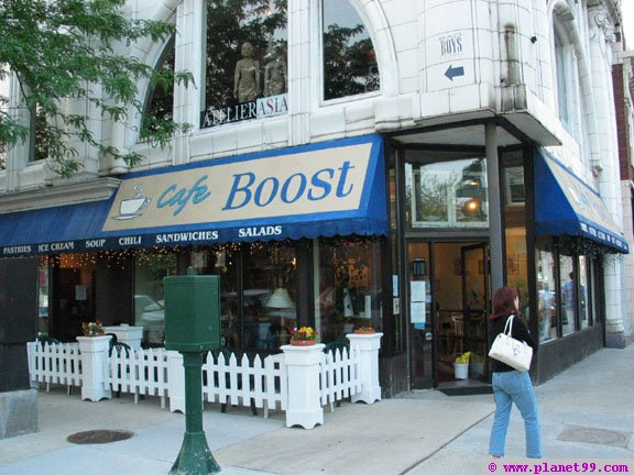 Cafe Boost  , Chicago