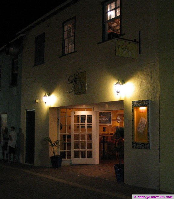 St George's, Bermuda , Cafe Gio