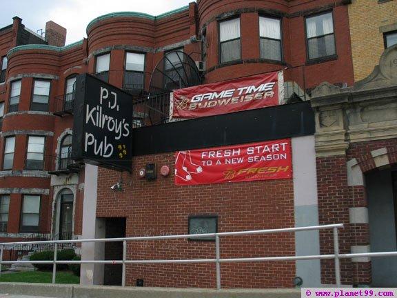 PJ Kilroy's Pub , Boston