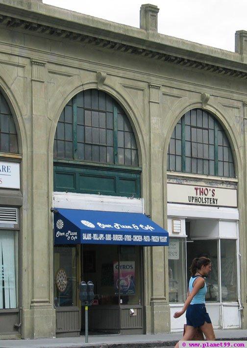 Star Pizza , Brookline