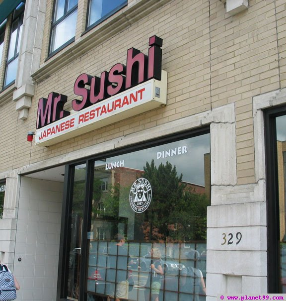 Mr Sushi , Brookline