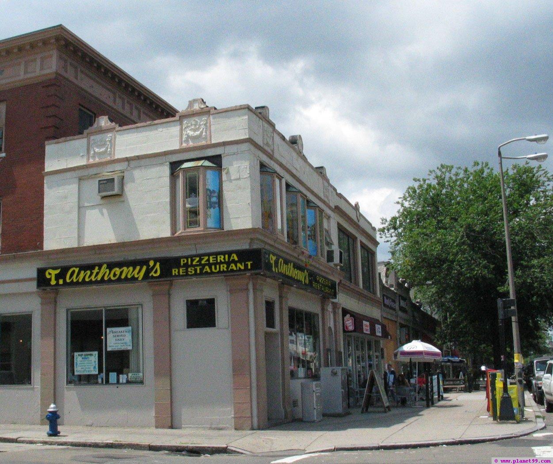 T Anthony's Pizzeria , Brookline