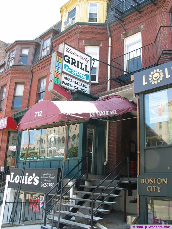 University Grill , Boston