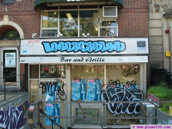 Underground Bar and Grill  , Boston