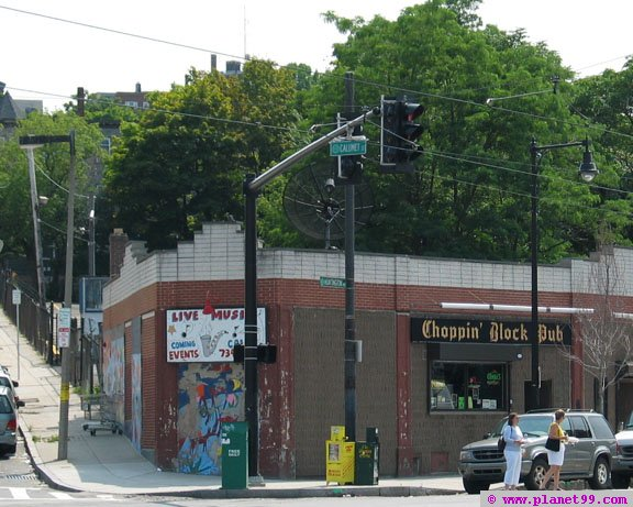 Choppin Block Pub , Boston