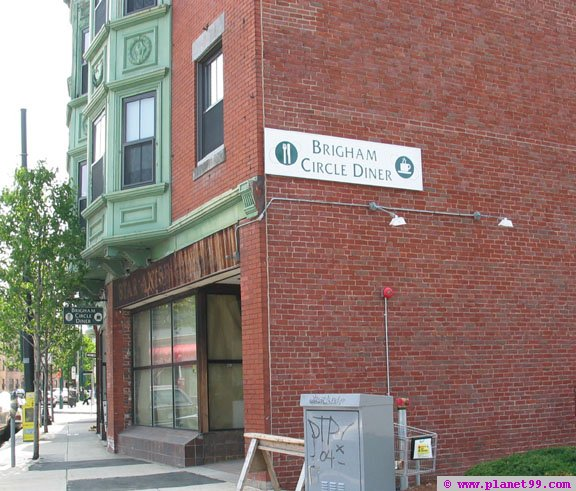Brigham Circle Diner  , Boston