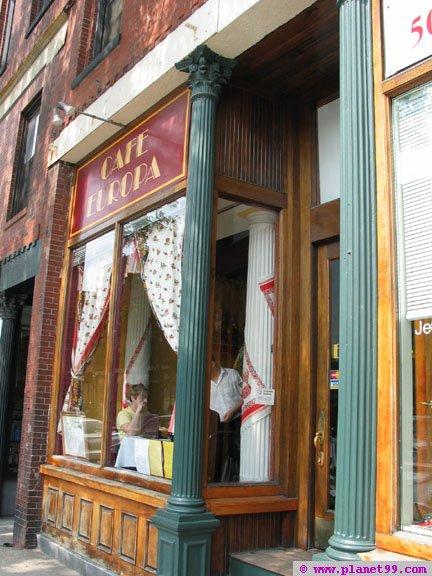 Cafe Europa , West Roxbury