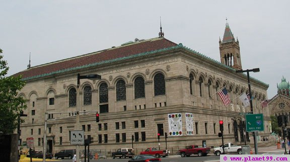 Boston Public Library , Boston