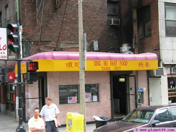 Ding Ho , Boston