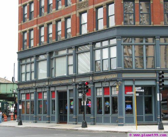 Friday's American Bar , Boston