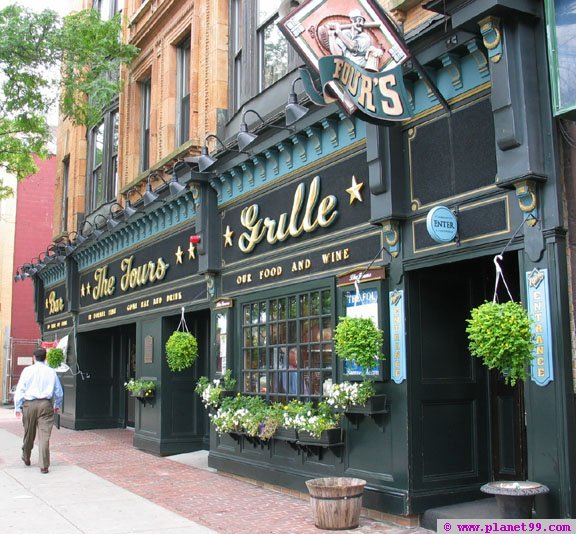 Fours Bar and Grille , Boston