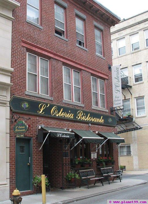 Boston , L'Osteria