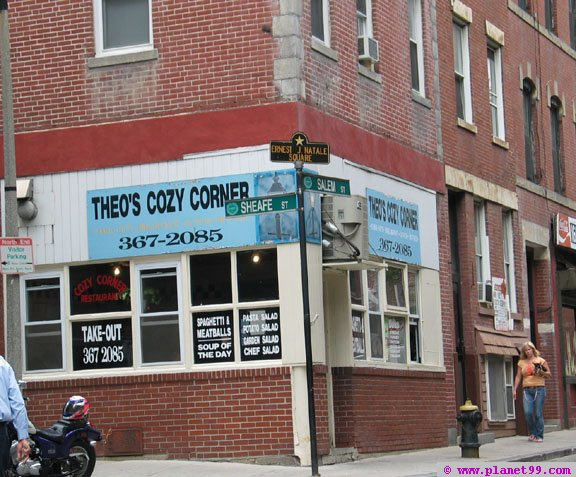 Theo's Cozy Corner , Boston