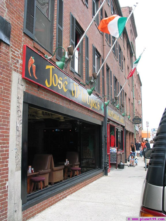 Jose McIntyre's , Boston
