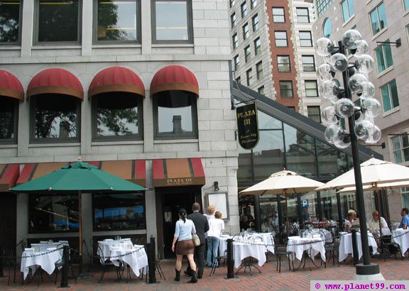 Plaza III Steakhouse , Boston