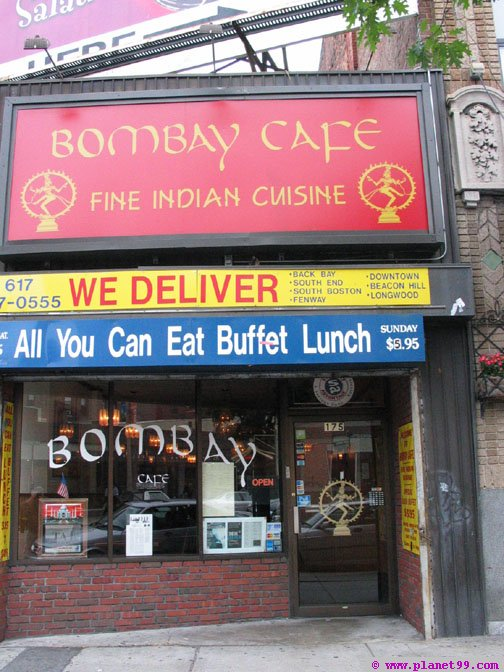 Bombay Cafe , Boston