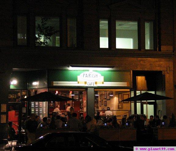 Parish Cafe , Boston