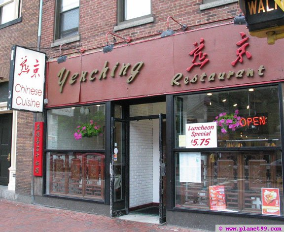 Yenching Restaurant , Boston