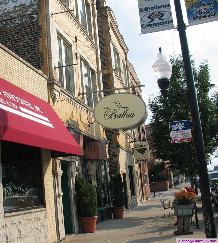 Cafe Ballou , Chicago