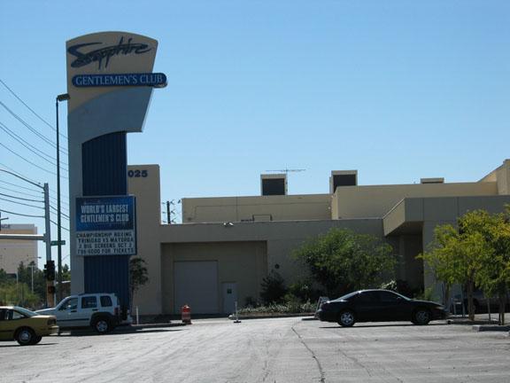 Las Vegas , Sapphire Club