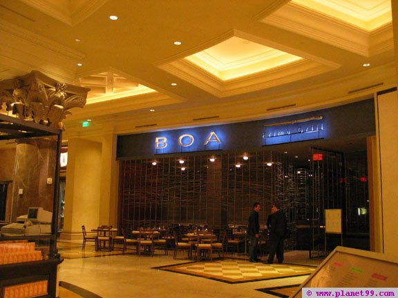 Boa Prime Grill , Las Vegas