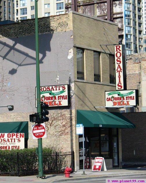 Rosati's , Chicago