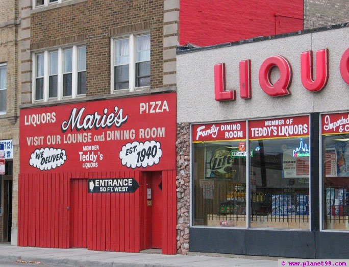 Marie's Pizza , Chicago