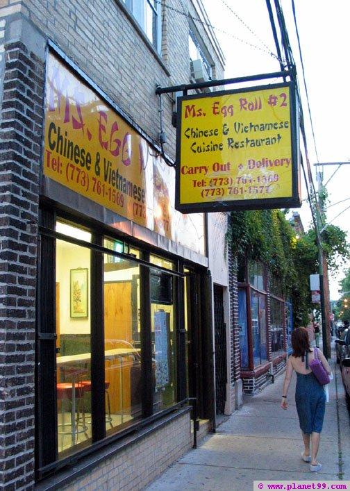 Ms Egg Roll #2 , Chicago