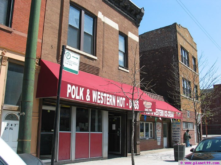 Chicago , Polk and Western Hot Dogs