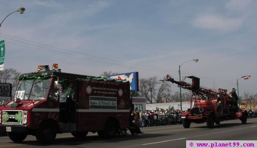 St. Patrick's Day - South Side Irish Parade,Chicago