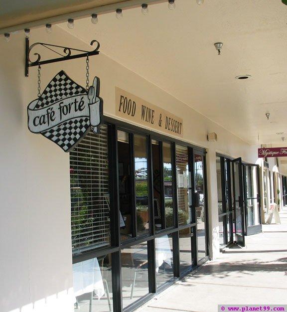 Cafe Forte , Scottsdale