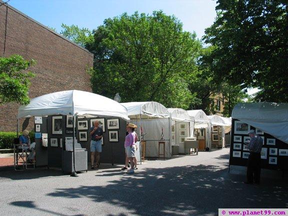 Old Town Art Fair,Chicago