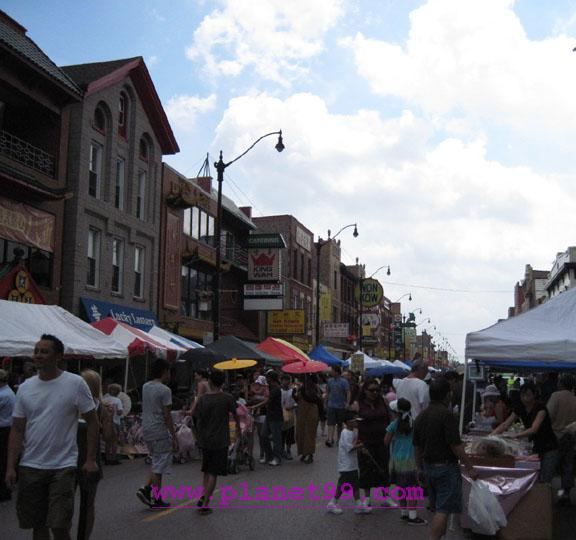 Chinatown Summer Fair,Chicago