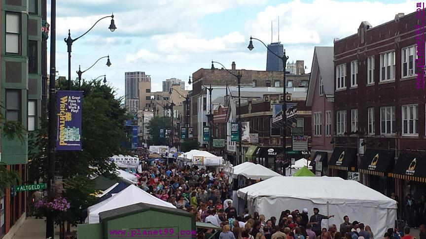 Taste of Lincoln Avenue,Chicago