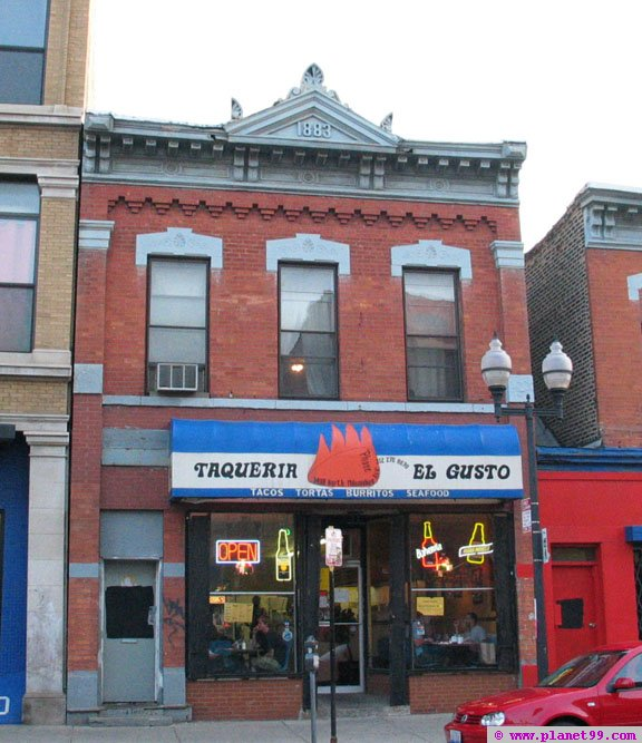 Taqueria El Gusto  , Chicago