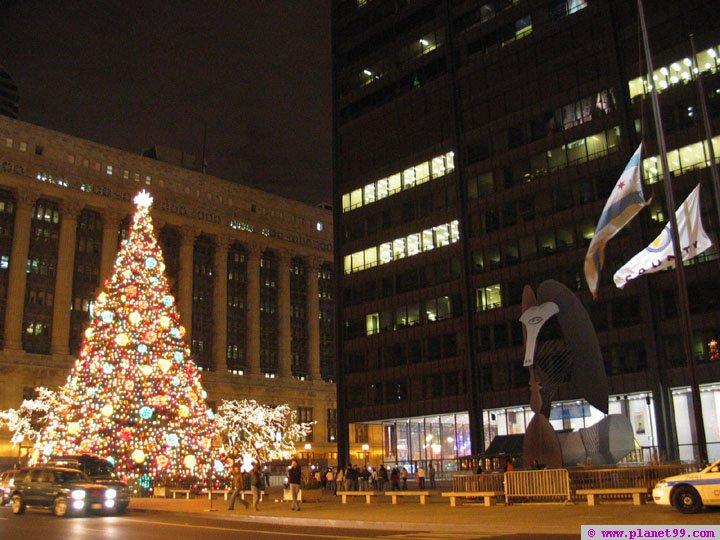 Tree Lighting Ceremony,Chicago