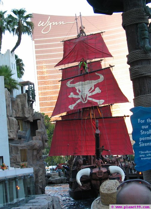 Sirens of Treasure Island,Las Vegas