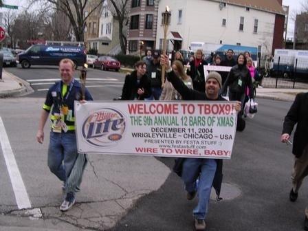 Festa Parties TBOX - Twelve Bars of Xmas,Chicago