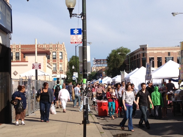 Milwaukee Avenue Arts Festival,Chicago