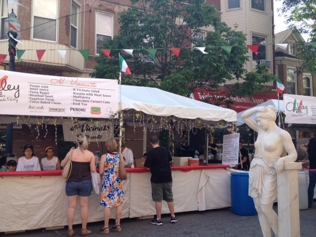 Oakley Avenue Italian Block Party,Chicago