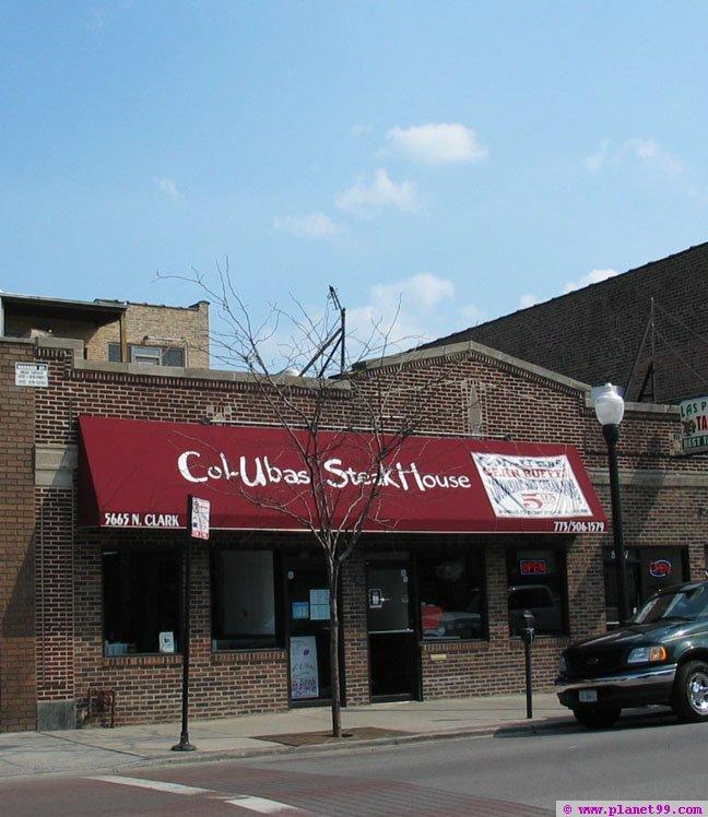 Col-ubas Steak House , Chicago