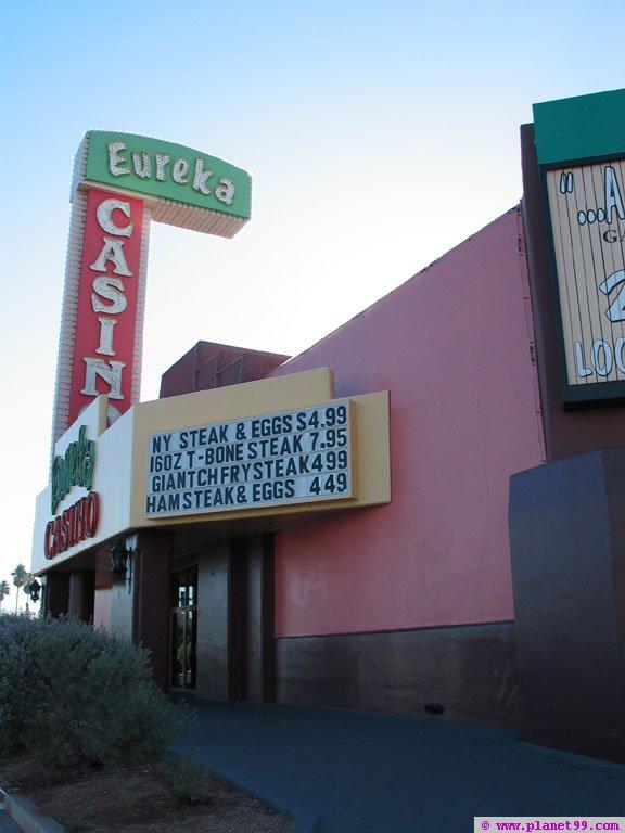 Eureka Casino , Las Vegas