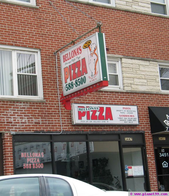 Bellona's Pizza , Chicago