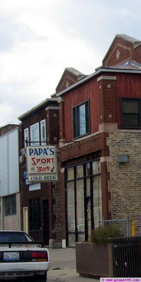 Papa's Sports Bar , Chicago