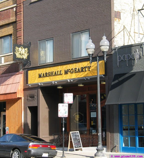 Marshall McGearty Tobacco Lounge  , Chicago