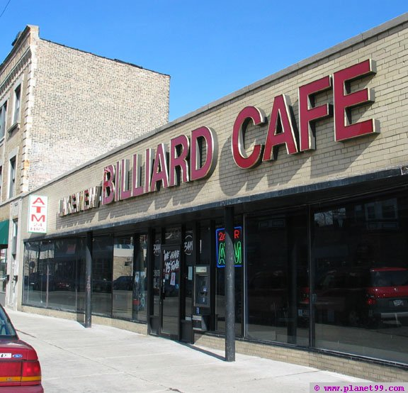Lakeview Billiard Cafe , Chicago