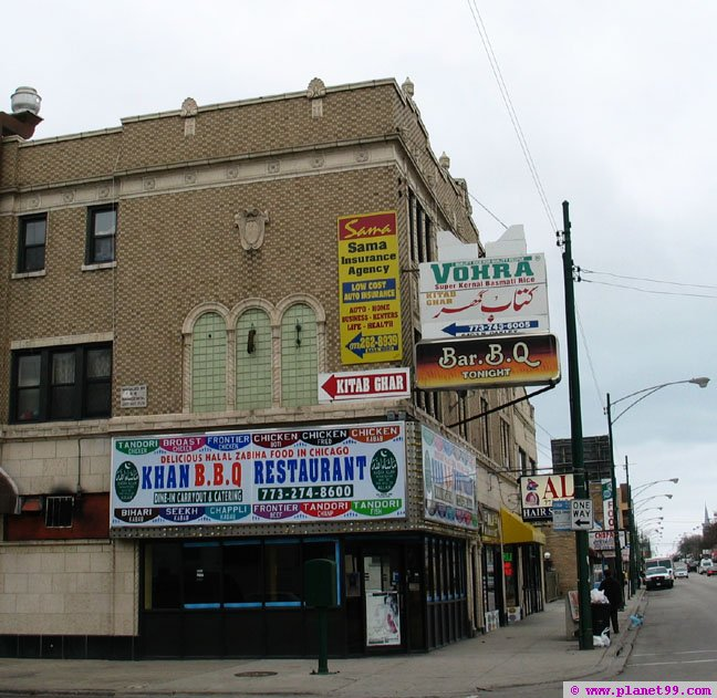 Khan BBQ and Vohra , Chicago