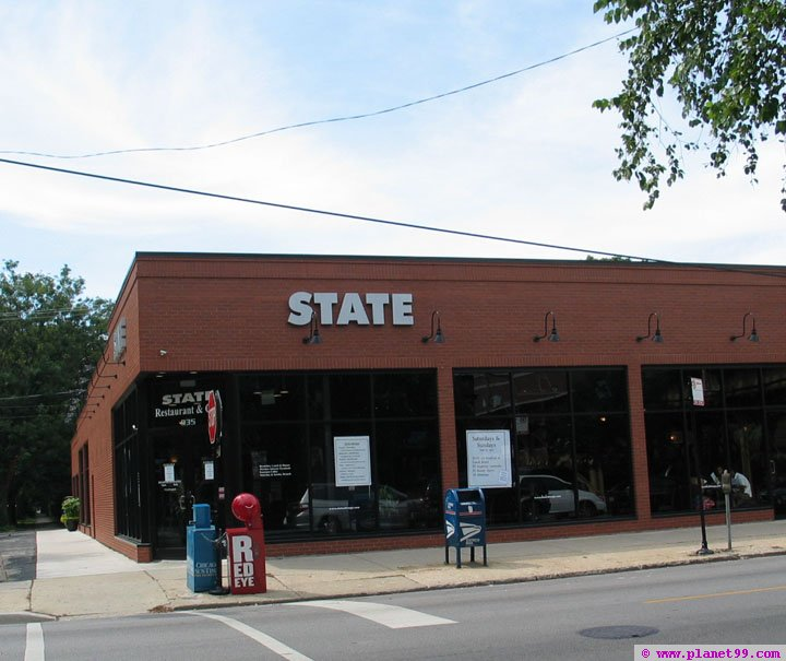 State Restaurant and Cafe , Chicago