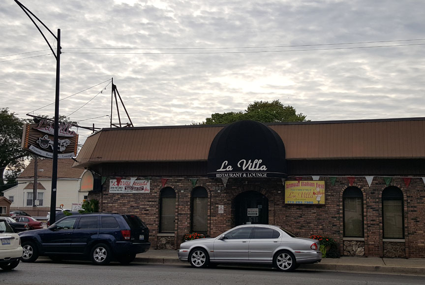 Chicago , La Villa Restaurant